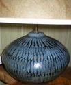 Lotus Pottery style vase - RP mark P1010011