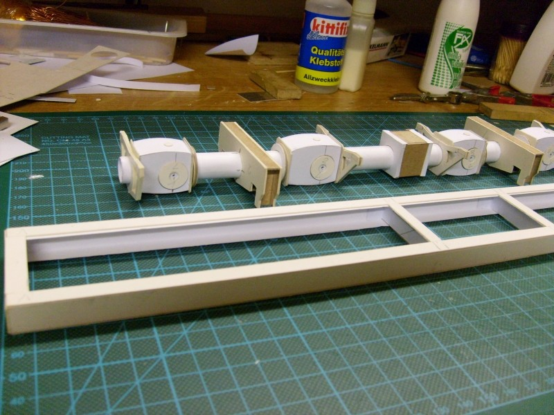 LKW TATRA 813 KOLOS M 1:20 gebaut von klebegold 38k11
