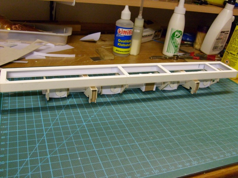 LKW TATRA 813 KOLOS M 1:20 gebaut von klebegold 39k10