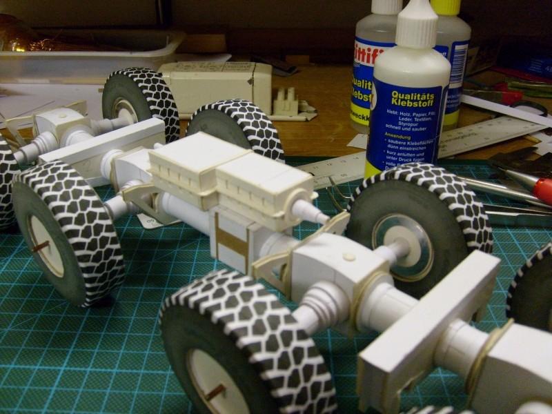 LKW TATRA 813 KOLOS M 1:20 gebaut von klebegold 57k10
