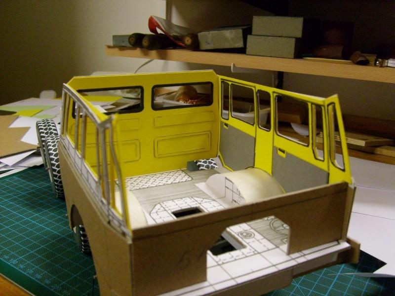 LKW TATRA 813 KOLOS M 1:20 gebaut von klebegold 65k10