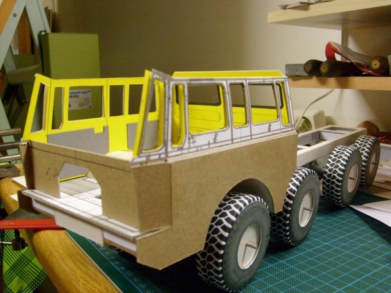 LKW TATRA 813 KOLOS M 1:20 gebaut von klebegold 66k10