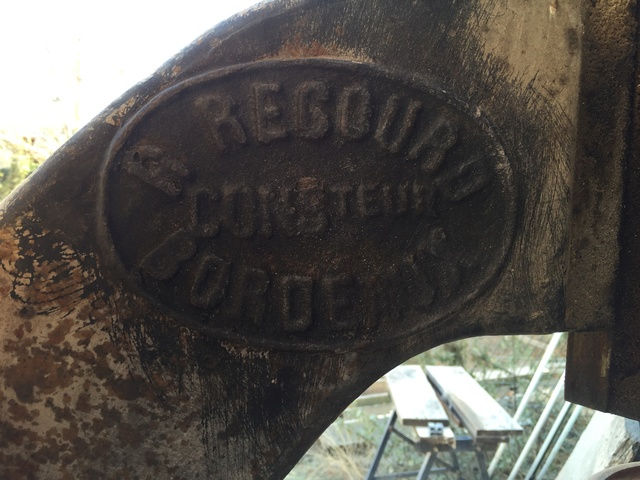 Scie a ruban R REGOURD 2016-011