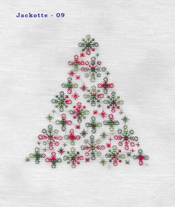 Les broderies déjà terminées pour Noël 2016 ................... 09-jac10