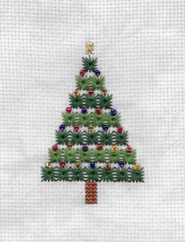 Les broderies déjà terminées pour Noël 2016 ................... 2016-d13