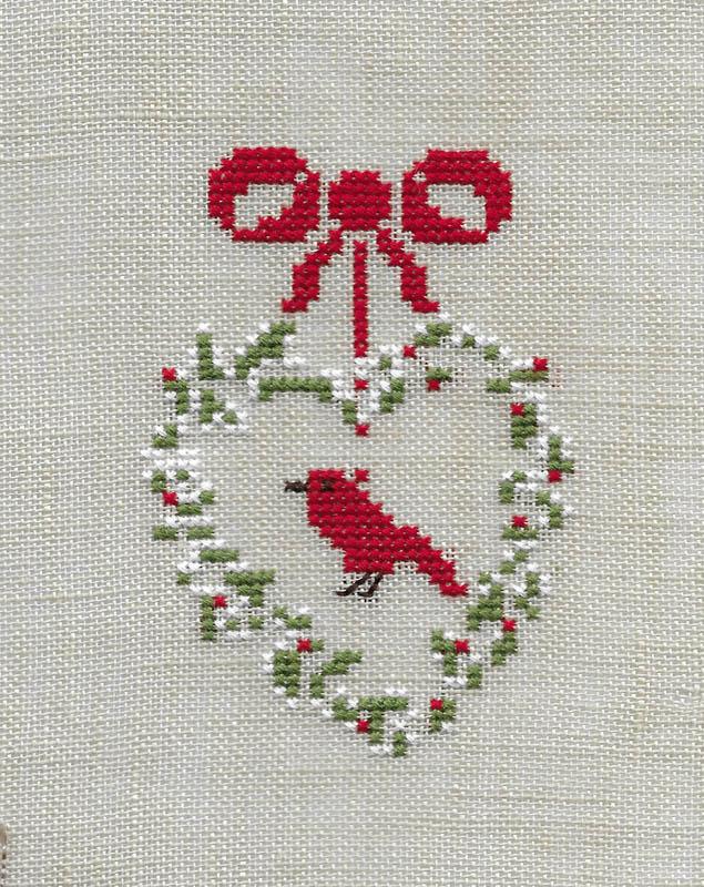 Les broderies déjà terminées pour Noël 2016 ................... 2016-d14