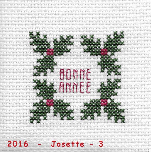 Les broderies déjà terminées pour Noël 2016 ................... 2016-j12