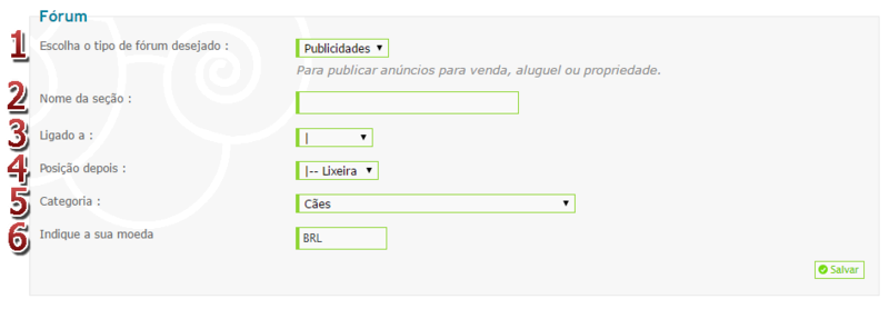 [FAQ] Visualizar e gerir as categorias, fóruns e subfóruns Forum_10