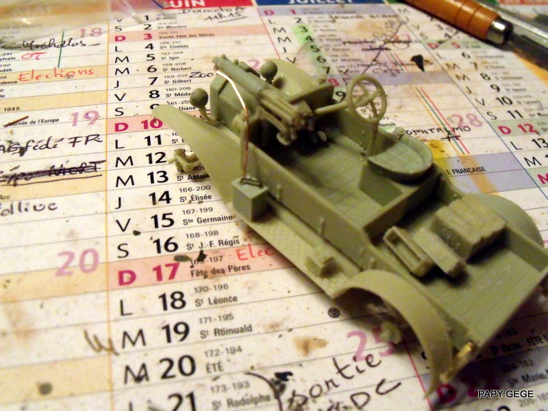 FORD T vickers machine gun carrier 1917 1/35 RESICAST 20-dsc11