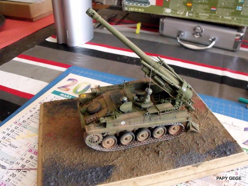 AMX 13 155 Automouvant au 1/35 de heller 20-pds10