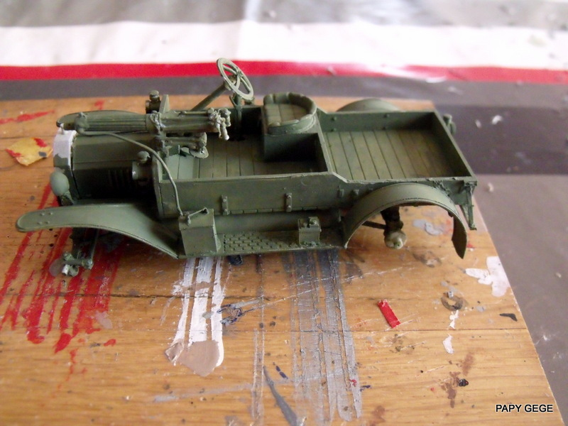 FORD T vickers machine gun carrier 1917 1/35 RESICAST - Page 2 21-dsc11