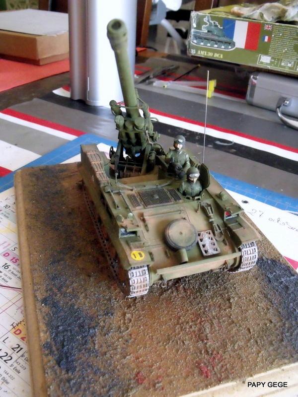 AMX 13 155 Automouvant au 1/35 de heller 21-pds10