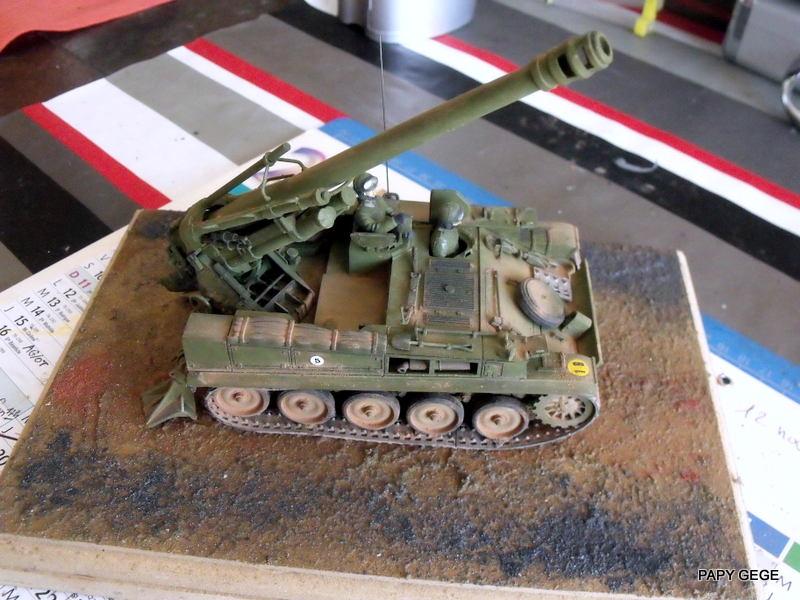 AMX 13 155 Automouvant au 1/35 de heller 22-pds10