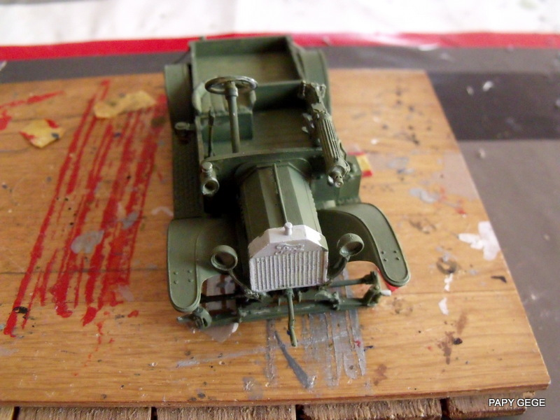 FORD T vickers machine gun carrier 1917 1/35 RESICAST - Page 2 23-dsc11