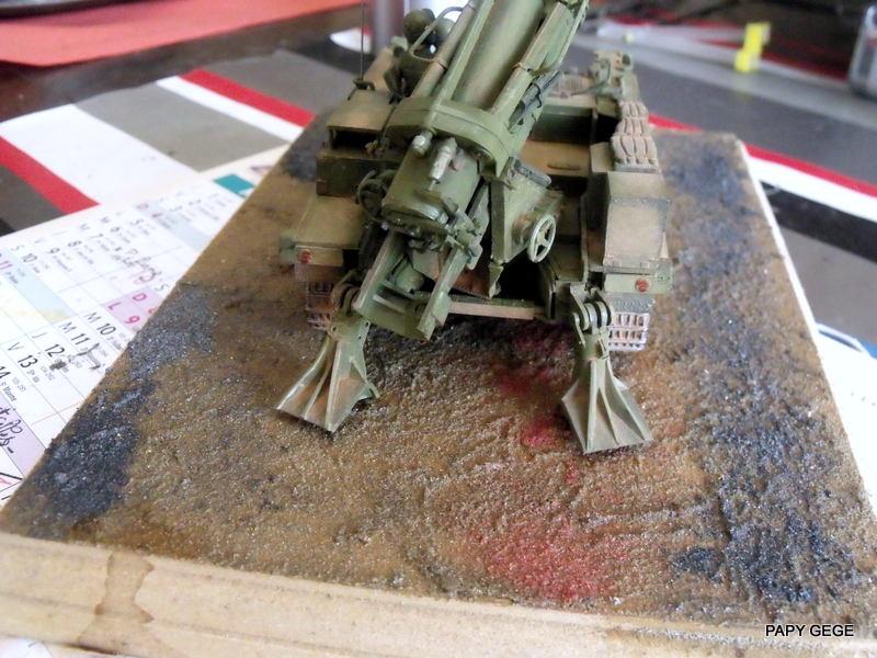 AMX 13 155 Automouvant au 1/35 de heller 23-pds10
