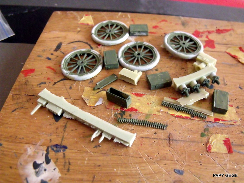 FORD T vickers machine gun carrier 1917 1/35 RESICAST - Page 2 24-dsc11
