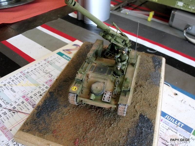 AMX 13 155 Automouvant au 1/35 de heller 24-pds10