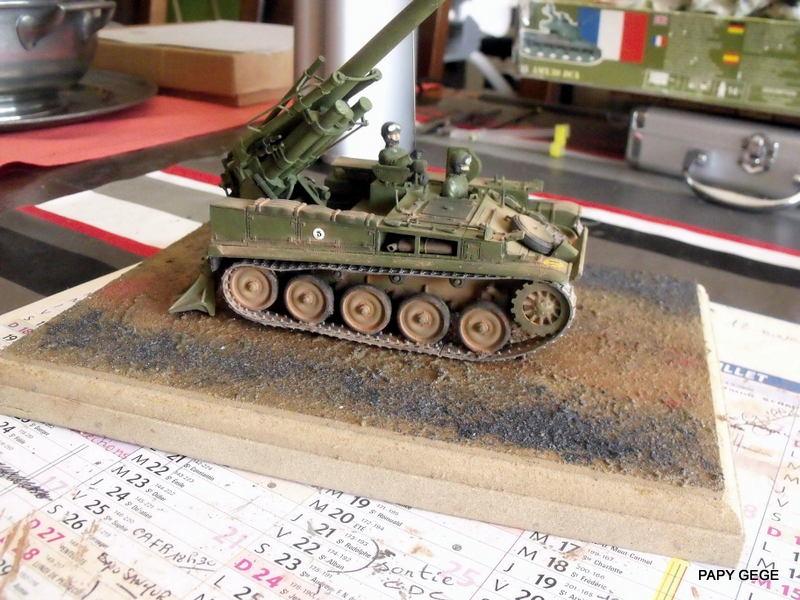 AMX 13 155 Automouvant au 1/35 de heller 25-pds10
