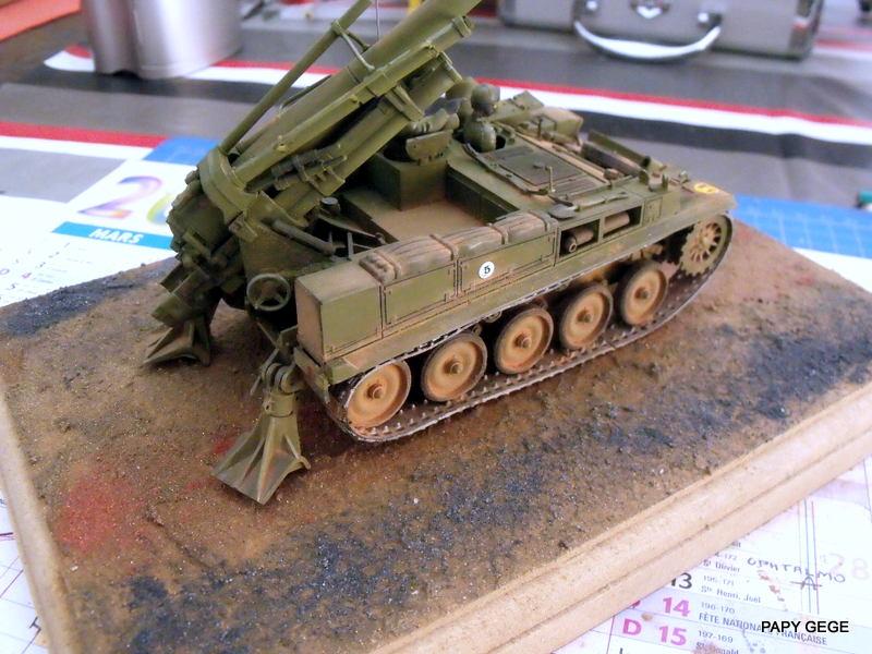 AMX 13 155 Automouvant au 1/35 de heller 28-pds10