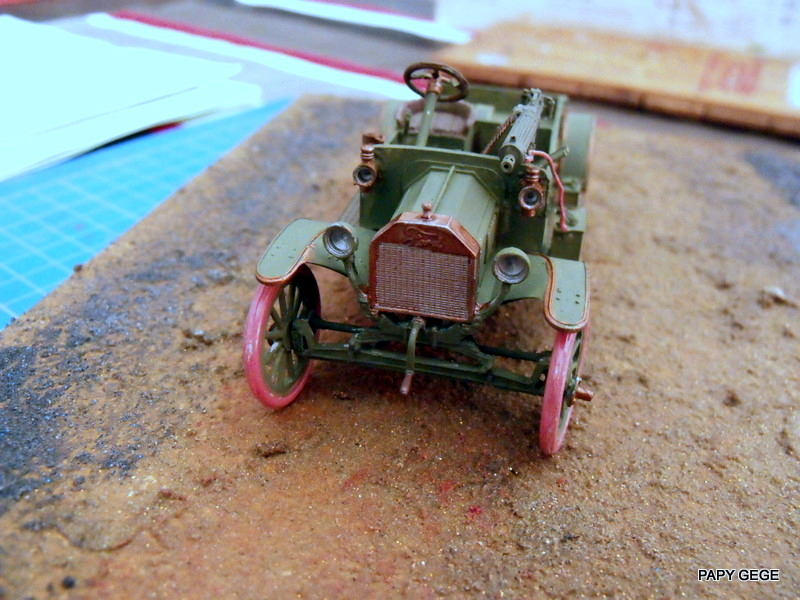 FORD T vickers machine gun carrier 1917 1/35 RESICAST - Page 2 31-dsc10