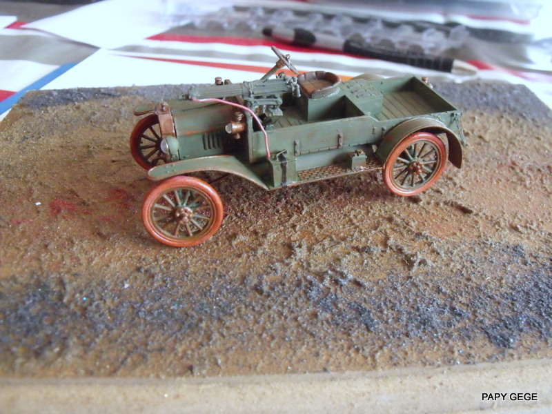 FORD T vickers machine gun carrier 1917 1/35 RESICAST - Page 2 32-dsc10