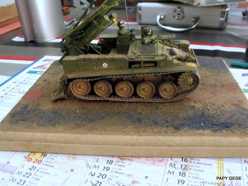 AMX 13 155 Automouvant au 1/35 de heller 32-pds10