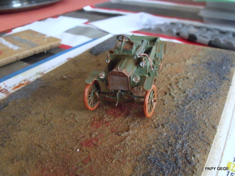 FORD T vickers machine gun carrier 1917 1/35 RESICAST - Page 2 33-dsc10
