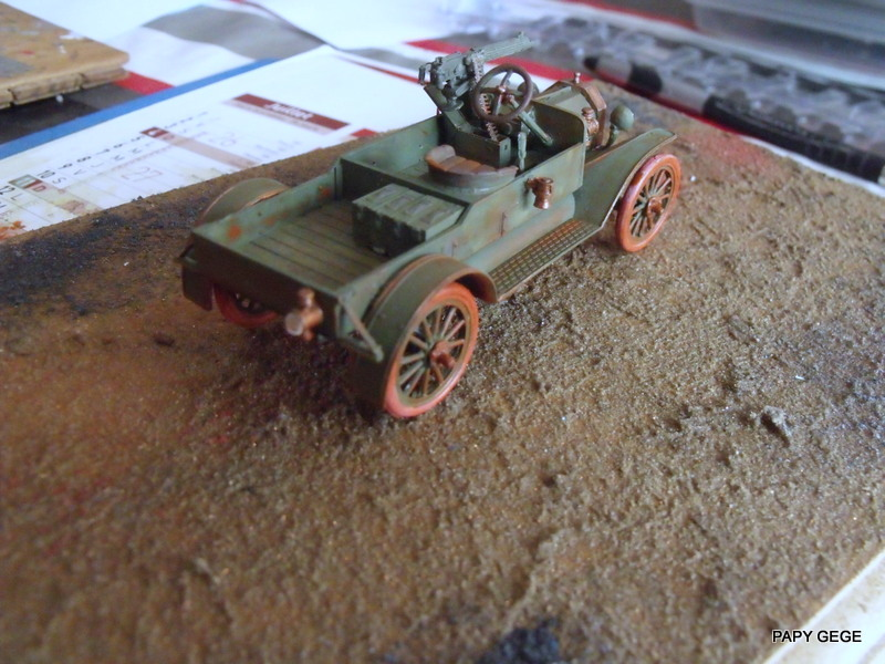 FORD T vickers machine gun carrier 1917 1/35 RESICAST - Page 2 35-dsc10