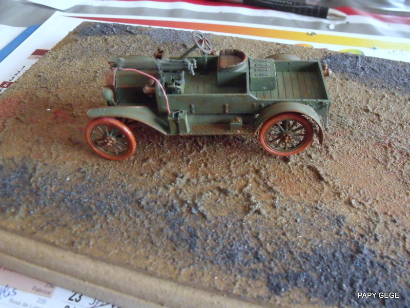 FORD T vickers machine gun carrier 1917 1/35 RESICAST - Page 2 36-dsc10