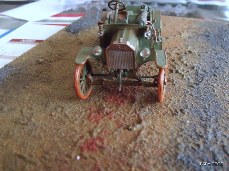 FORD T vickers machine gun carrier 1917 1/35 RESICAST - Page 2 37-dsc10