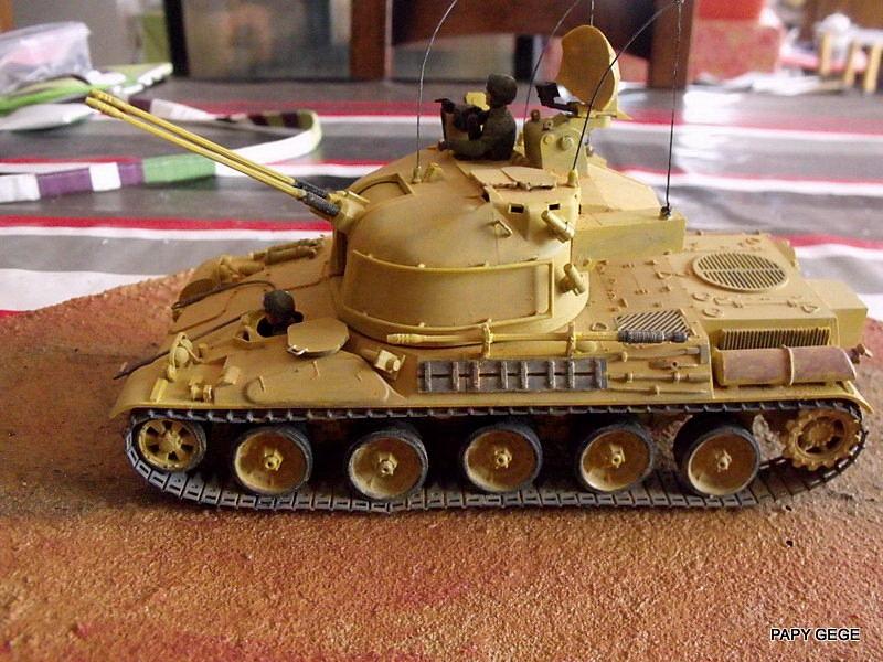 AMX 30t AA Heller Humbrol au 1/35 Dscf9010