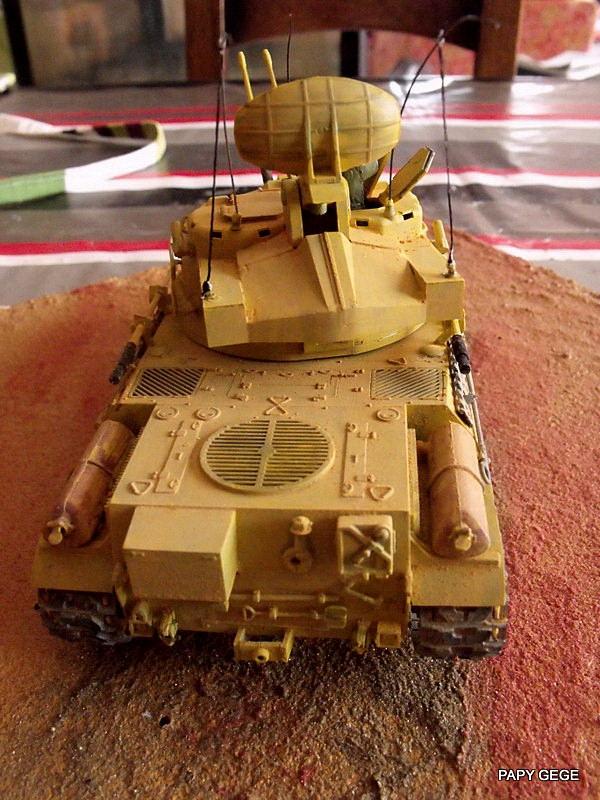 AMX 30t AA Heller Humbrol au 1/35 Dscf9011