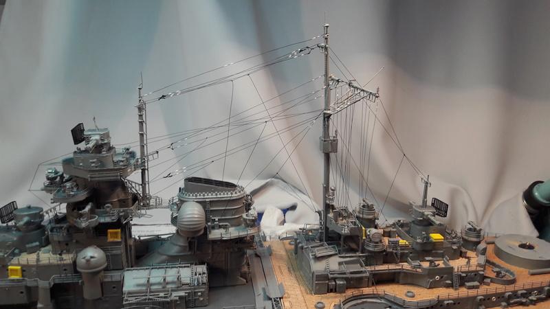 Bismarck au 1/200° de Hachette  - Page 5 20161014