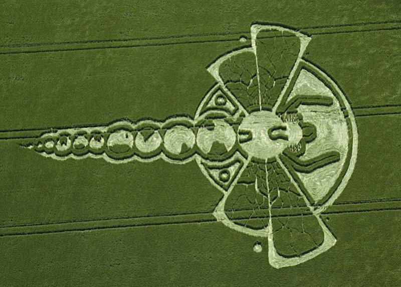 El Misterio de los Crop Circles - Círculos de las Cosechas 20090711