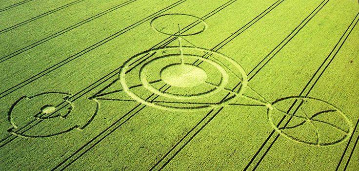 El Misterio de los Crop Circles - Círculos de las Cosechas 9cfc6410