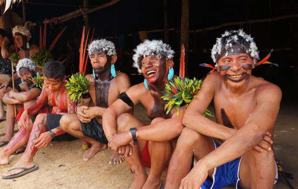 """Yanomami  """"Aprendemos con los grandes espíritus"""" Yanoma10"""