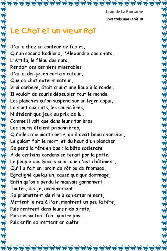 Poésie et textes Les chats et l' automne Fable110