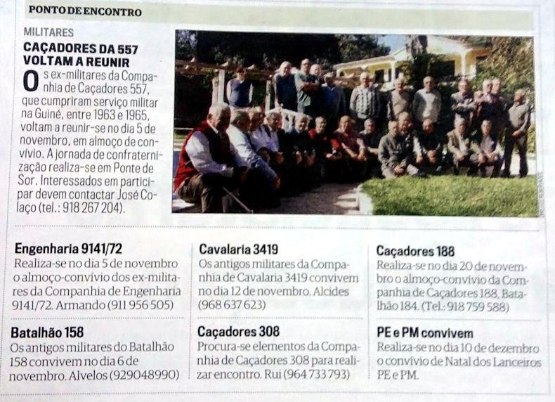 Encontros Convívios de ex-Militares Portugueses, in Correio da Manhã, de 29Out2016 2016_110