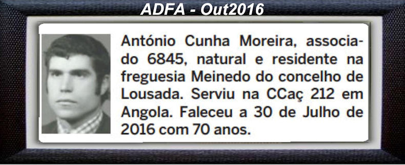Falecimento de veteranos publicados no Jornal ELO, de Out2016, da ADFA: Antoni11