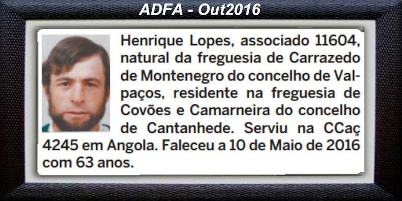 Falecimento de veteranos publicados no Jornal ELO, de Out2016, da ADFA: Henriq10