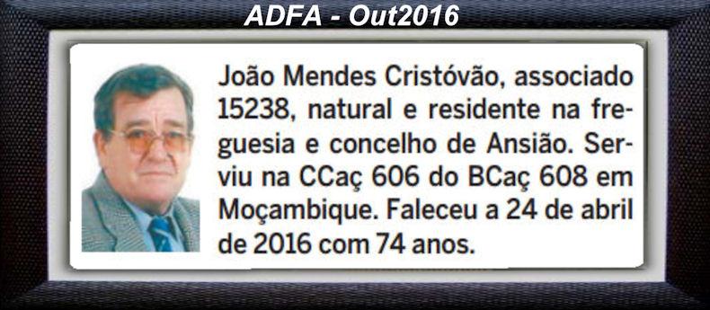 Falecimento de veteranos publicados no Jornal ELO, de Out2016, da ADFA: Joaome10