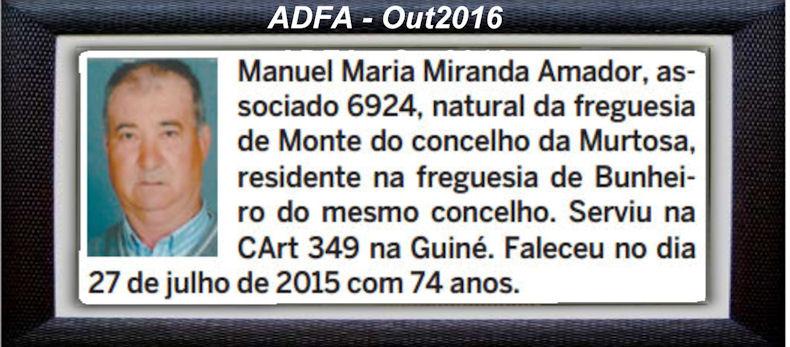 Falecimento de veteranos publicados no Jornal ELO, de Out2016, da ADFA: Manuel11