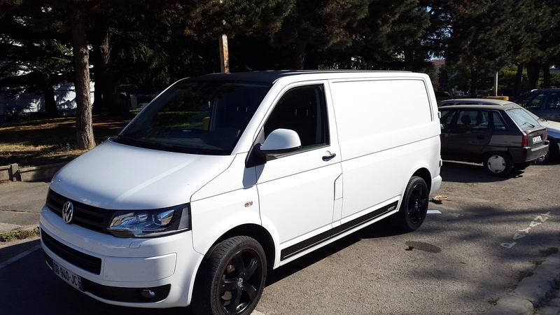 Vends T5 EDITION FOURGON TÔLE COURT TDI 140CH BVM6 110