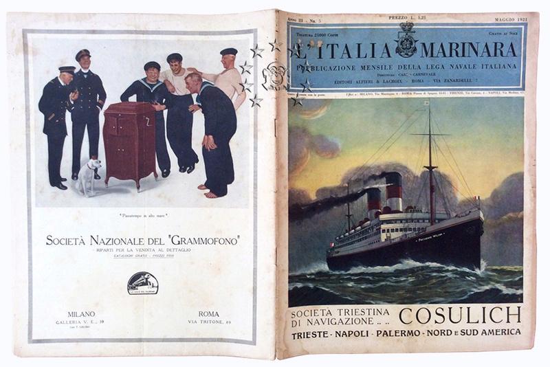 Kaiser Franz Joseph I -Presidente Wilson -Gange -Marco Polo 10_nav11