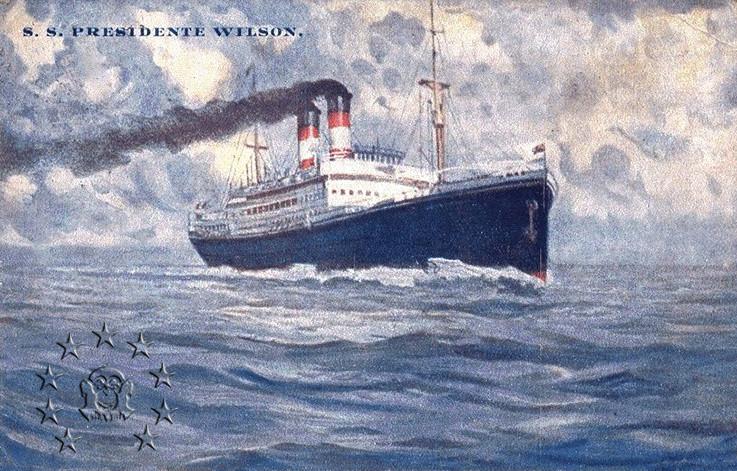 Kaiser Franz Joseph I -Presidente Wilson -Gange -Marco Polo 14_nav10