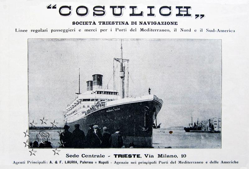 Kaiser Franz Joseph I -Presidente Wilson -Gange -Marco Polo 175_se10
