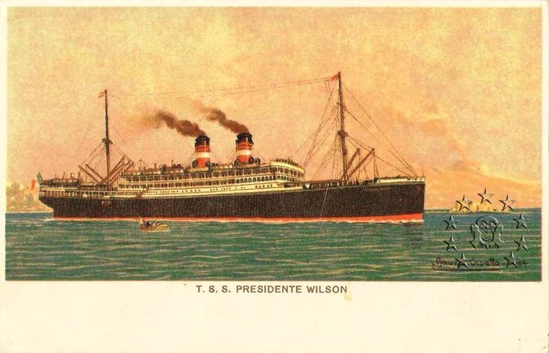 Kaiser Franz Joseph I -Presidente Wilson -Gange -Marco Polo 185_na10