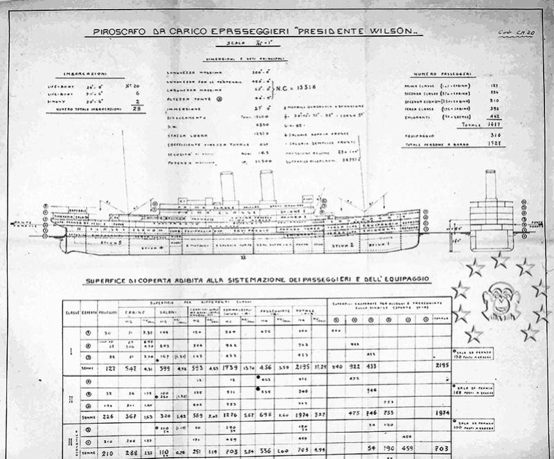 Kaiser Franz Joseph I -Presidente Wilson -Gange -Marco Polo 18_nav11