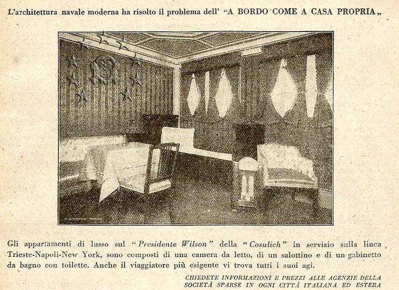 Kaiser Franz Joseph I -Presidente Wilson -Gange -Marco Polo 19_nav10