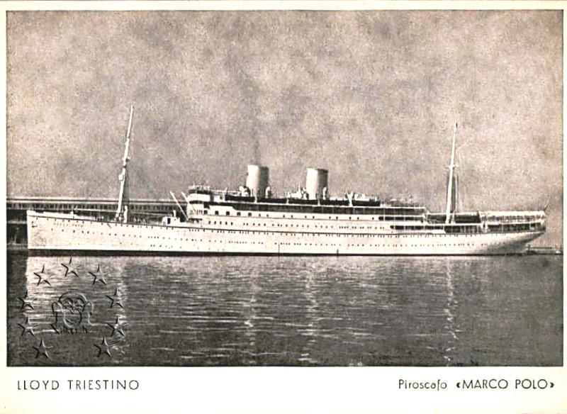 Kaiser Franz Joseph I -Presidente Wilson -Gange -Marco Polo 1_nav210
